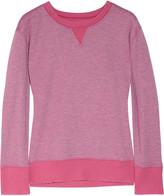 Current/Elliott The Stadium cotton-blend sweatshirt