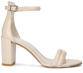 Kenneth Cole New York Lex Patent Leather Ankle-Strap Sandals