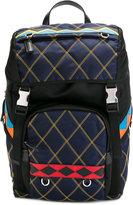 Prada diamond stitch backpack