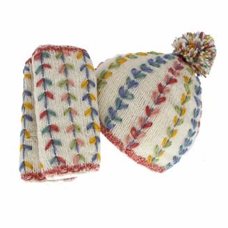 Pacha Mama Pachamama 100% Wool Kylemore Bobble Hat & Handwarmers Matching Set