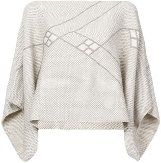 Voz Knitted Cropped Jumper