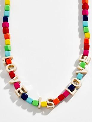 BaubleBar Love Collar Necklace