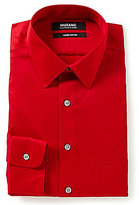 Murano Liquid Cotton Solid Slim-Fit Point-Collar Dress Shirt