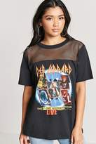 Forever 21 Def Leppard Graphic Tour Tee