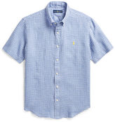 Polo Ralph Lauren Plaid Linen Sport Shirt