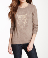 Sisters Brown Owl Pullover Sweater