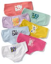 Old Navy Hipster Underwear 7-Pack for Girls