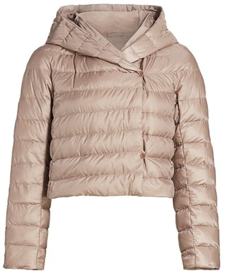 Max Mara Bsoft Reversible Cropped Puffer Jacket