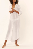 Mara Hoffman Beach Shirt Dress
