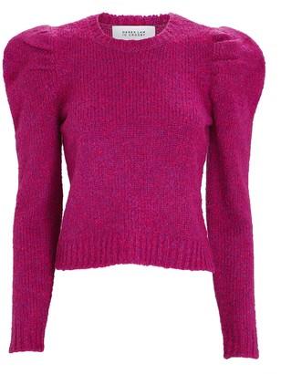 Derek Lam 10 Crosby Locken Puff Shoulder Sweater