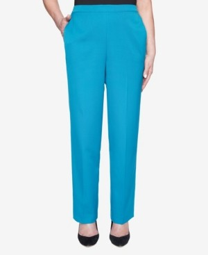 Alfred Dunner Women's Colorado Springs Twill Proportioned Short Pant