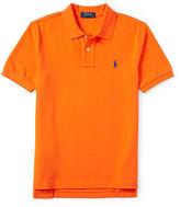 Ralph Lauren Short-Sleeve Cotton Mesh Polo