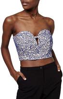 Topshop Lace Bustier