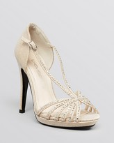 Caparros Platform Evening Sandals - Precious High High Heel