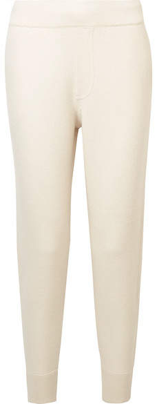Alexander Wang Merino Wool Track Pants - Ivory