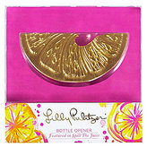 Lilly Pulitzer Spill the Juice Orange Slice Bottle Opener