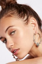 Free People Medallion Rays Hoops