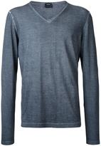 Jil Sander V-neck jumper - men - Cotton - 48