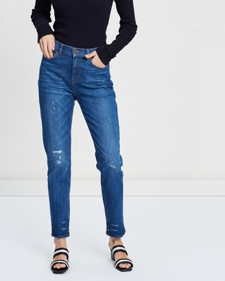 Scotch & Soda High Five High-Waisted Boyfriend Fit Jeans