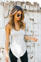 Joah Brown - Live In Slouchy Tank In Heather Grey