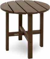 Cape Cod Plastic Side Table Trex Outdoor Color: Vintage Lantern