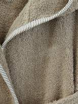 Baby Hooded Bathrobe - grey blue, Furniture & Bedding   Vertbaudet
