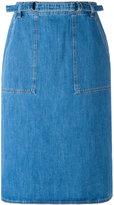 MiH Jeans Juno denim skirt - women - Cotton - XS