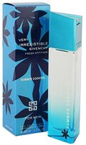 Givenchy Very Irresistible Fresh Attitude Summer Cocktail Cologne by for Men. Eau De Toilette Spray 3.3 Oz / 100 Ml.