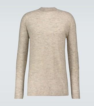 Rick Owens Oversized crewneck sweater