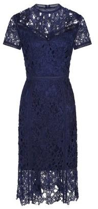 Dorothy Perkins Womens *Chi Chi London Navy Crochet Bodycon Dress, Navy