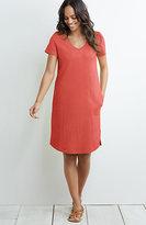 J. Jill Short-Sleeve Knit Dress