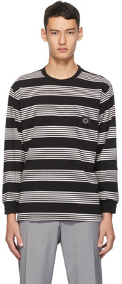 Noon Goons Black and White Striped Mumma Long Sleeve T-Shirt