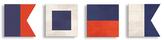 PTM Images Nautical Signal (Wood) (Set of 4)