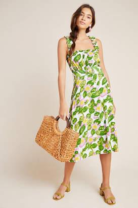 Mae Faithfull Belted Midi Dress