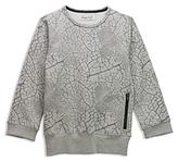 Sovereign Code Boys' Textured Sweatshirt - Big Kid