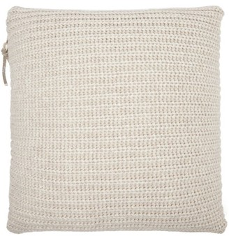 Brunello Cucinelli Virgin Wool-blend Cushion - Beige