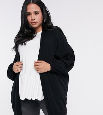 ASOS DESIGN Curve longline fine knit cardigan