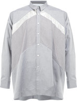 08sircus contrast panel shirt
