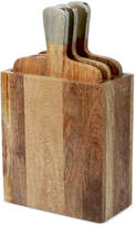 Thirstystone Wood 3 Piece Chopping Board Set & Case