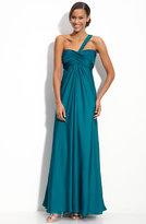 Monique Lhuillier Bridesmaids One Shoulder Gown (Nordstrom Exclusive)