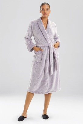 Natori Frosted Casmere Fleece Robe