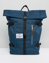 Poler Classic Rolltop Backpack In Navy