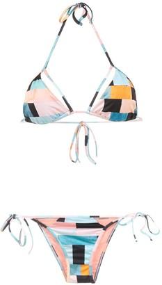 BRIGITTE Colour Block Bikini Set