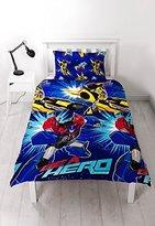 Transformers 'Hero' Single Duvet Set - Repeat Print Design