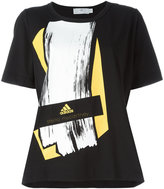 adidas by Stella McCartney Essentials Graphic T-shirt - women - Cotton/Recycled Polyester - XS