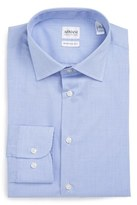 Armani Collezioni Modern Fit Stretch Check Dress Shirt