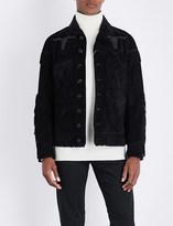 Ralph Lauren Purple Label Fringed suede jacket