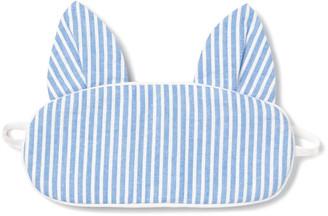 Petite Plume Kids' Kitty Seersucker Eye Mask