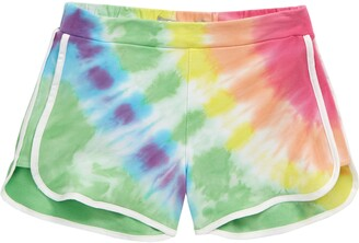 Tractr Tie Dye Soft Shorts