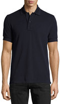 Tom Ford Tennis Pique Polo Shirt, Navy